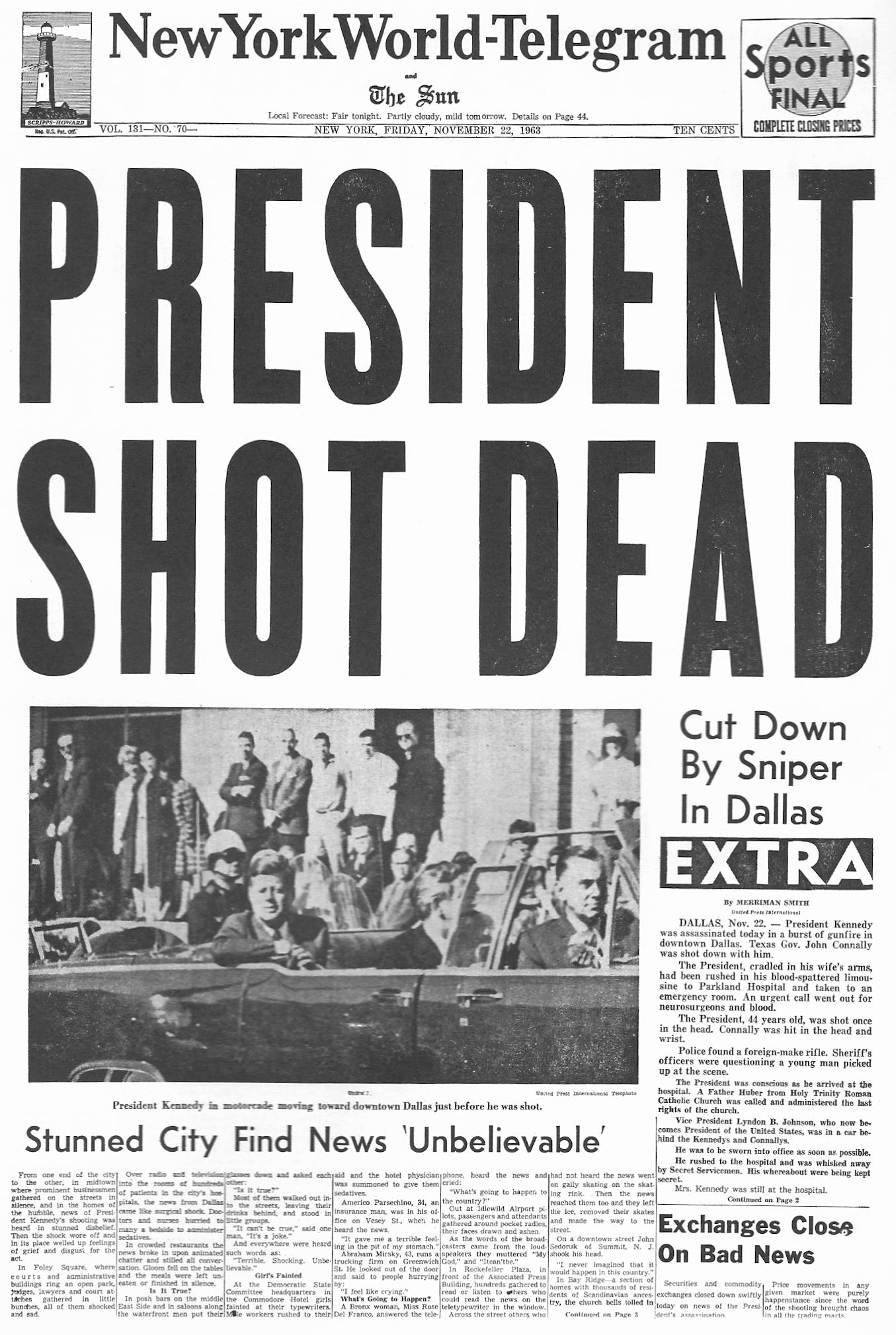 Analysis of the JFK Assassination at EssayPedia.com
