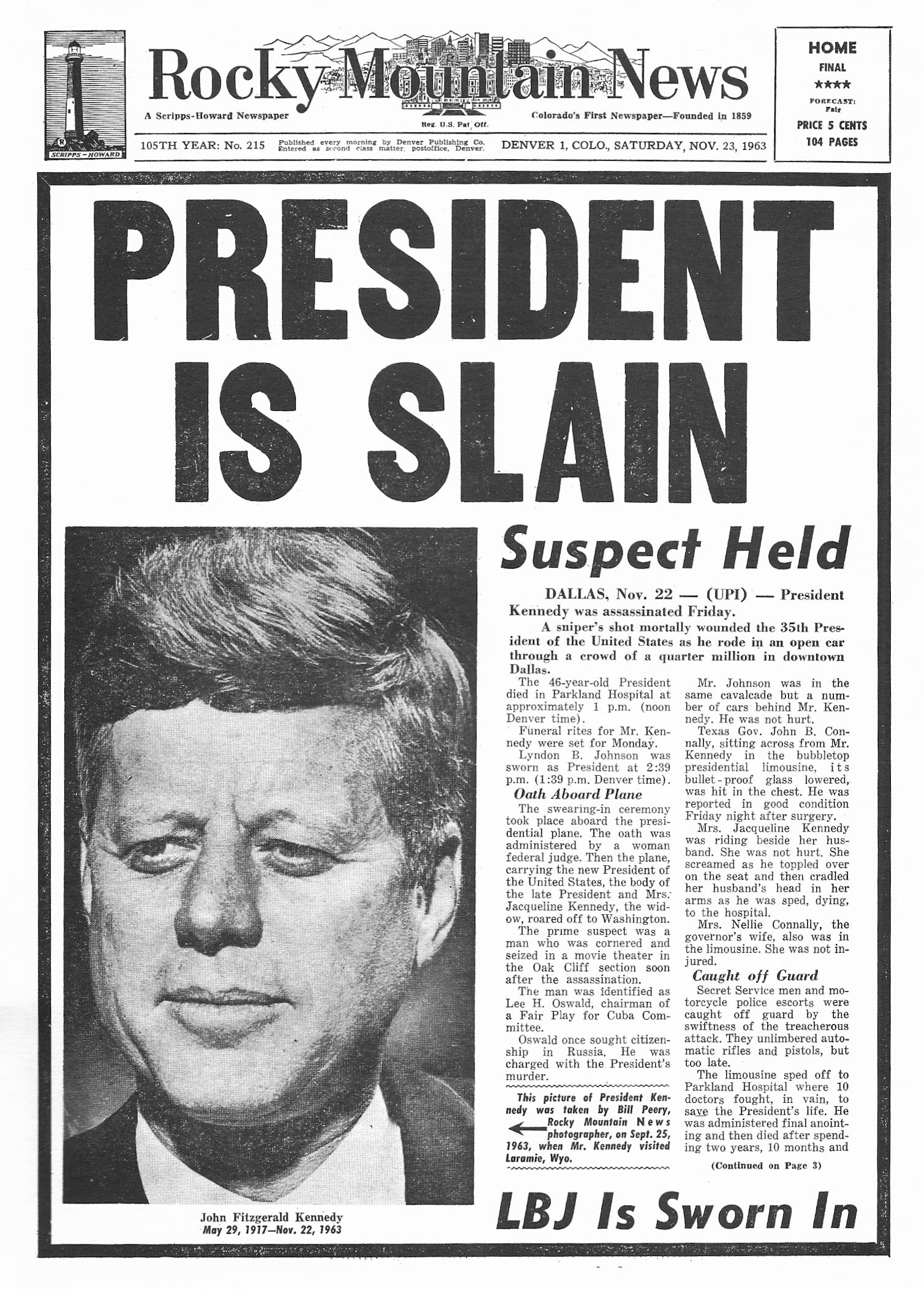 the assassination of jfk essay The assassination of jfk, jr far right draws first blood in the war on terror  but who instead participated in the jfk assassination see the lawrence teeter dvd cited previously [14]  kristina borjesson, through her essay,.
