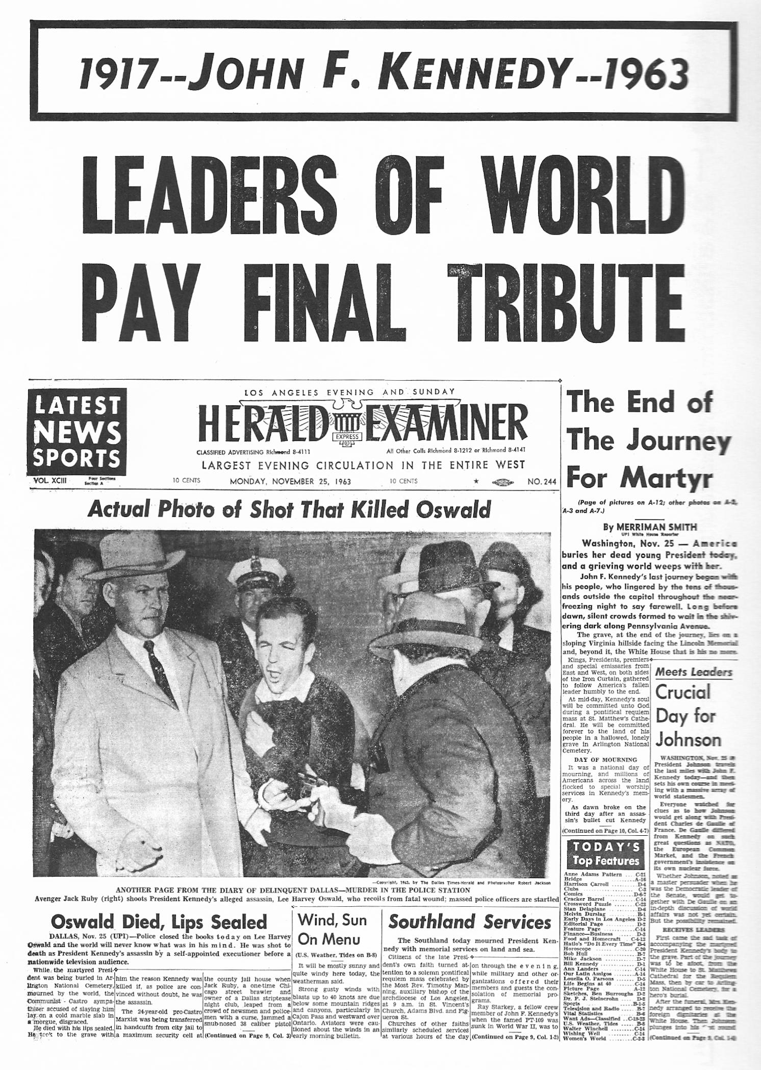 Los Angeles Herald Examiner Newspaper Los Angeles Herald Examiner 39