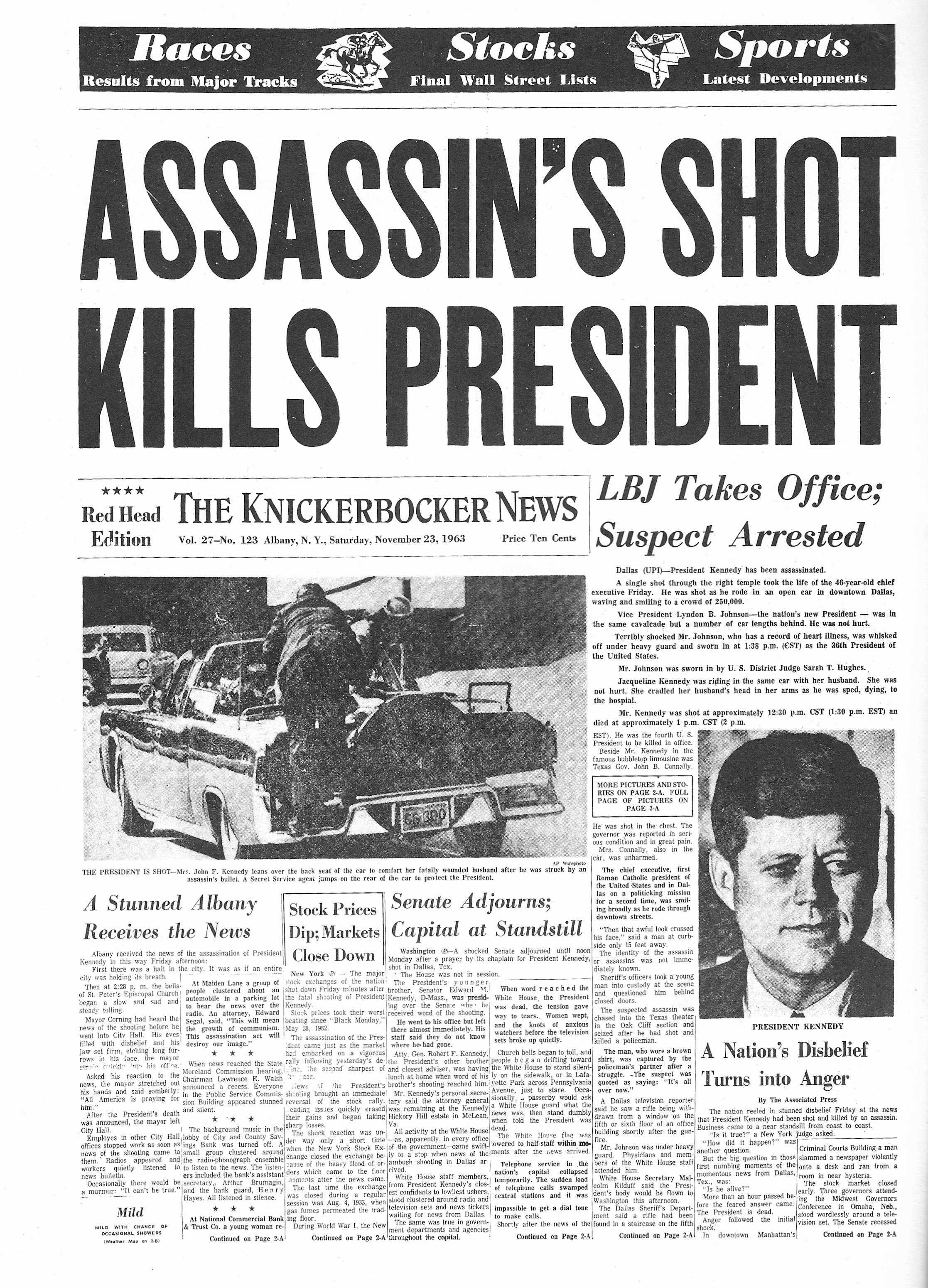 assassination of john f kennedy essay When john f kennedy was assassinated, oliver stone was a teenager and  as  robert robbins and jerrod post argue in their essay political paranoia as.